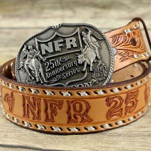 🐎Vintage 1983 Hesston NFR 1st Edition Buckle🐎